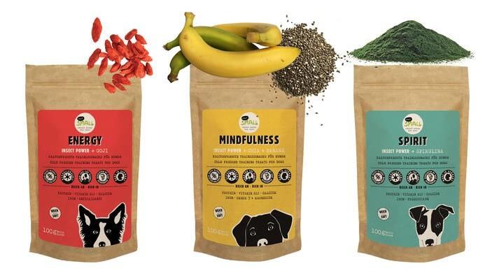 LOGO_ENERGY - MINDFULNESS - SPIRIT kaltegepresste Snacks mit Insektenprotein