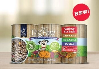 LOGO_Little BigPaw Variety Six Pack for dogs