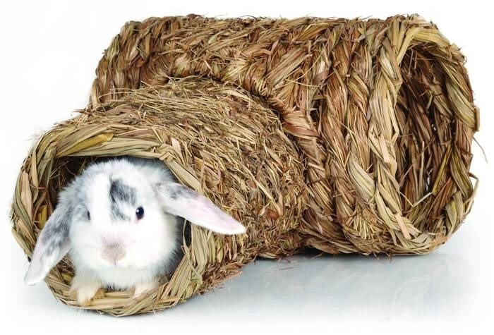 LOGO_Grass tunnel for rabbits