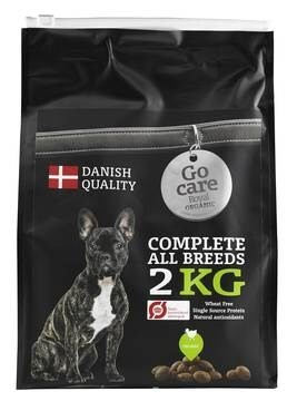 LOGO_Go Care Royal: Complete organic dry dog food with 38% chicken