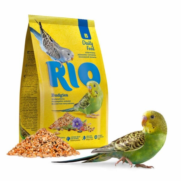 LOGO_RIO Daily feed for budgies