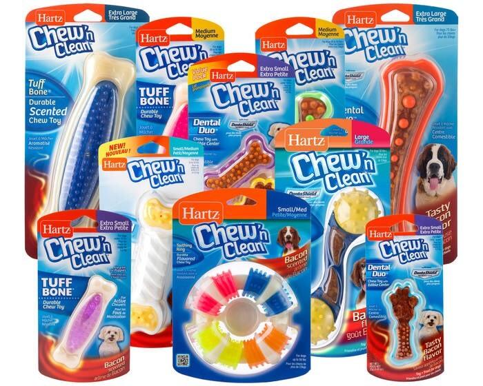 LOGO_Chew'n Clean Dog Toys