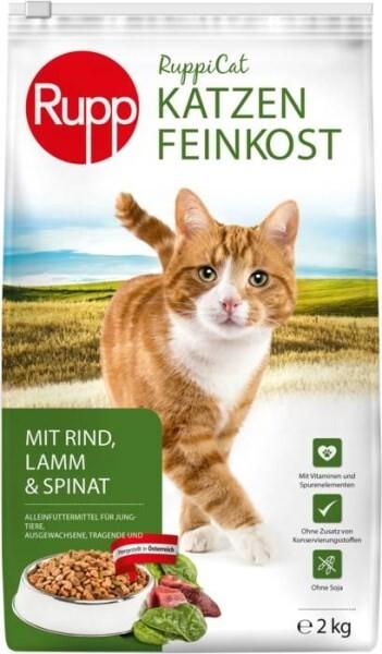LOGO_Ruppicat Katzen-Feinkost Rind, Lamm & Spinat