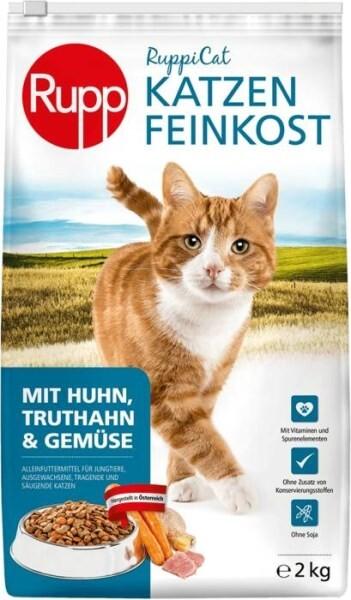 LOGO_Ruppicat Katzen-Feinkost Huhn, Truthahn & Gemüse