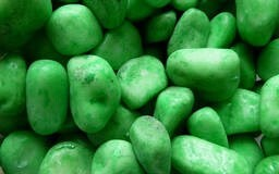 LOGO_Fluorescent Light Green Stone