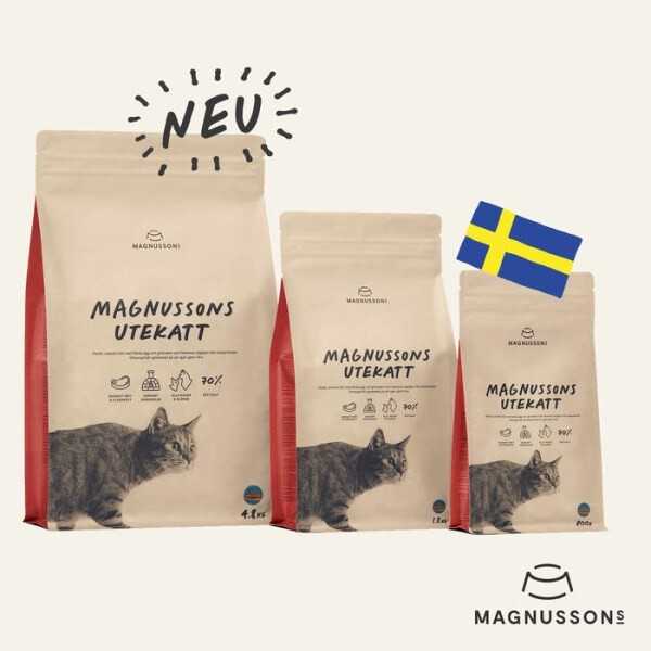 LOGO_CATFOOD FOR OUTDOOR CATS  MAGNUSSONs UTEKATT: