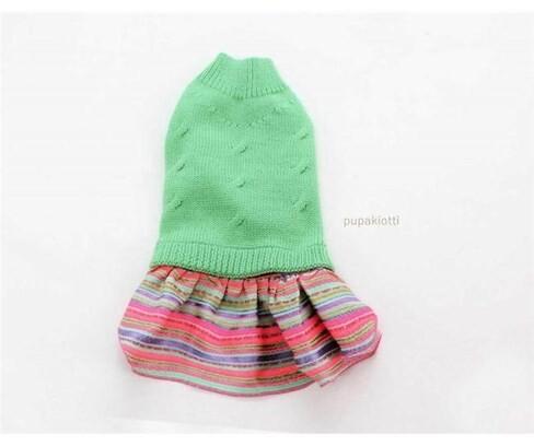 LOGO_Sweater for dog in merino wool