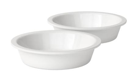 LOGO_Zwei Porzellannäpfe für dogBar® S und S-large