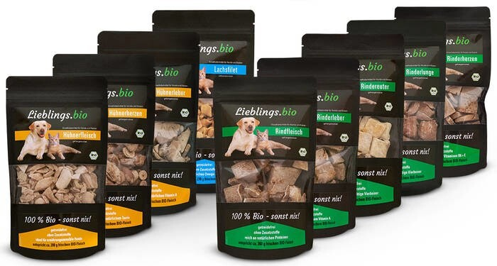 LOGO_Premium organic snacks for dogs and cats