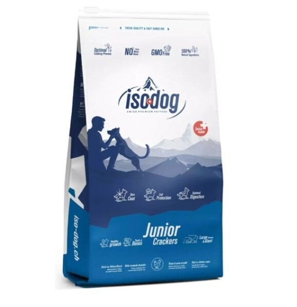 LOGO_Iso-dog JUNIOR Crackers Large & Giant