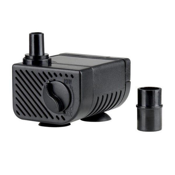LOGO_Small aquarium water pump,mini artificial rocky fountain pump