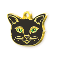 LOGO_Gold Plated Cat Tags