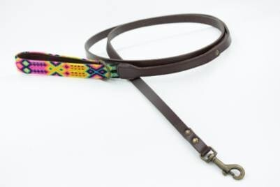 LOGO_WEAVE HANDLE LOXA LEASH