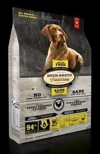 LOGO_GRAIN-FREE CHICKEN ADULT DOG FOOD FOR ALL BREEDS / ALL LIFE STAGES. FRESH & AUTHENTIC ADULT DOG FOOD PREPARED WITH FRESH CHICKEN, FRUITS & VEGETABLES