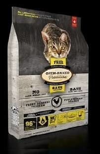 LOGO_GRAIN-FREE CHICKEN FORMULA CAT FOOD – ALL LIFESTYLE / ALL LIFE STAGES. FRESH & AUTHENTIC CAT FOOD PREPARED WITH FRESH CHICKEN, FRUITS & VEGETABLES