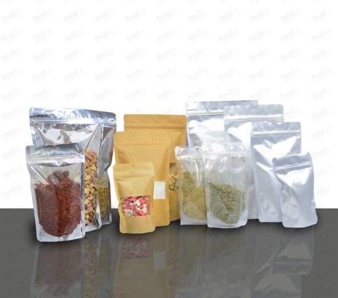 LOGO_Doypak Bag - Ziplock Standing Packaging