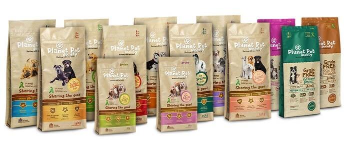 LOGO_Planet Pet Society | Dog food selection
