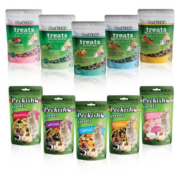 LOGO_NEW Peckish Small Animal Treats
