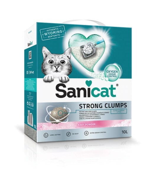 LOGO_Sanicat Strong Clumps