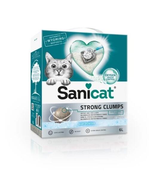 LOGO_Sanicat Strong Clumps