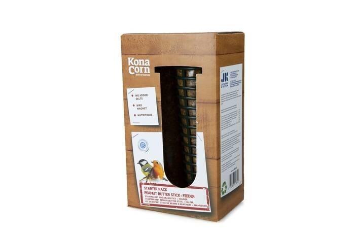 LOGO_KonaCorn Starterpaket Erdnussbutter-Stick + Halter