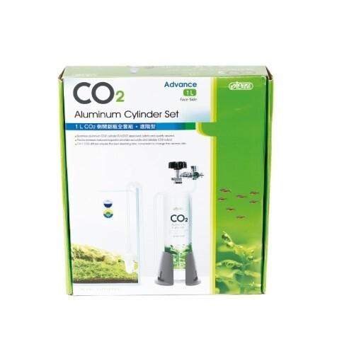 LOGO_1L CO2 Aluminum Cylinder Set Face-side - Advance