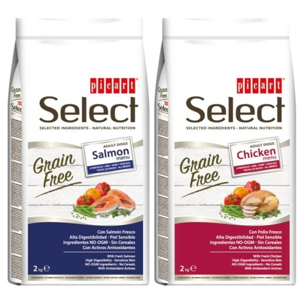 LOGO_Picart SELECT Grain Free
