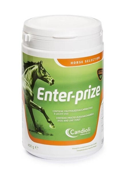 LOGO_ENTER-PRIZE CONTAINS FRUCTO-OLIGOSACCHARIDES (FOS) AND ACTIVE YEASTS