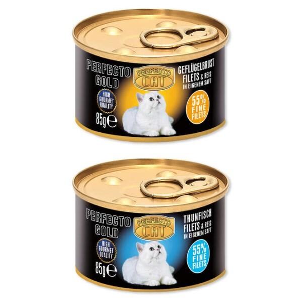 LOGO_Perfecto Gold Feines Filet in eigenem Saft 85g