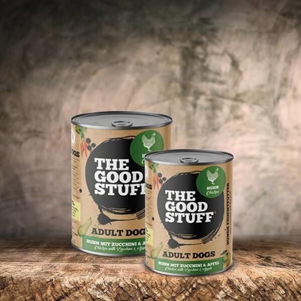 LOGO_THE GOODSTUFF Nassfutter Chicken & Zucchini (Adult)