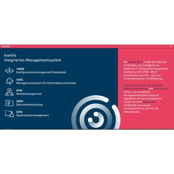 LOGO_fuentis DPM/DSMS - Datenschutzmanagementsystem
