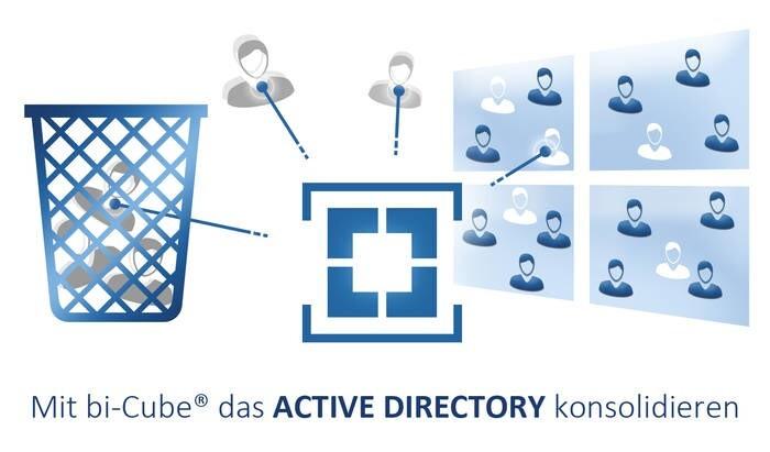 LOGO_bi-Cube Active Directory bereinigen, konsolidieren