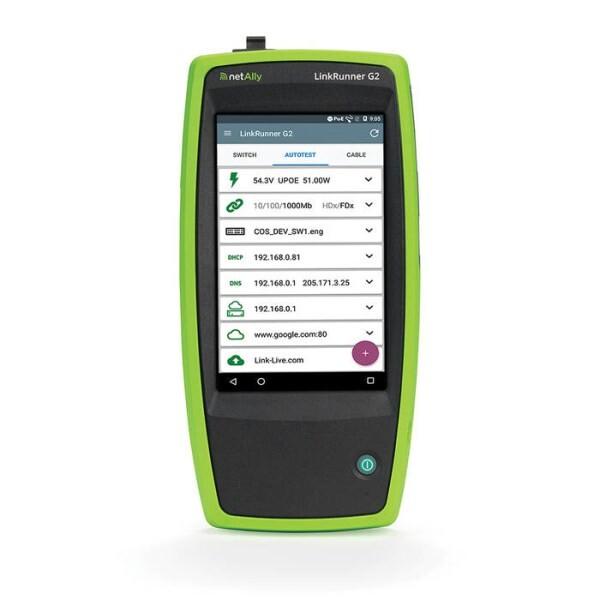 LOGO_LinkRunner G2 Smart Network Tester