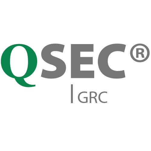 LOGO_Compliance, Risk, Business Continuity Management (BCM), EU DSGVO - QSEC® GRC