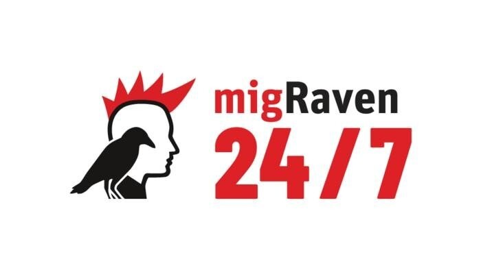 LOGO_migRaven.24/7 – user centric data management