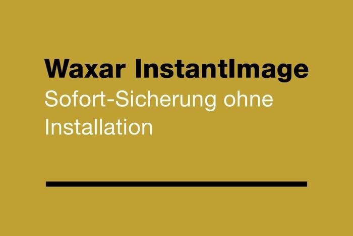 LOGO_Waxar InstantImage - For instant backup without installation