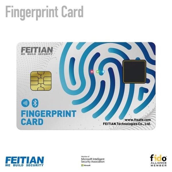 LOGO_Fingerprint Card - Biometric Passwordless Authentication on card
