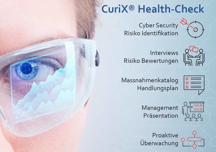 LOGO_CuriX® Health-Check zur Vermeidung von ICT – Systemausfällen