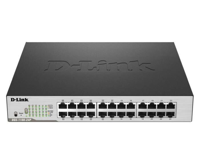 LOGO_DLINK DGS-1100-24P 24-Port PoE Gigabit Smart Switch