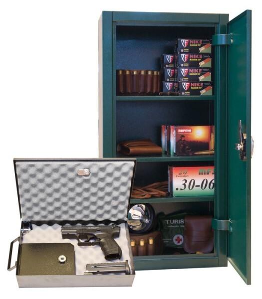 LOGO_Hand gun caskets, ammunition boxes and accessories