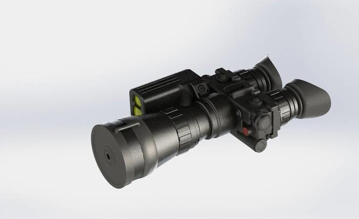 LOGO_Night Vision Binocular D521R