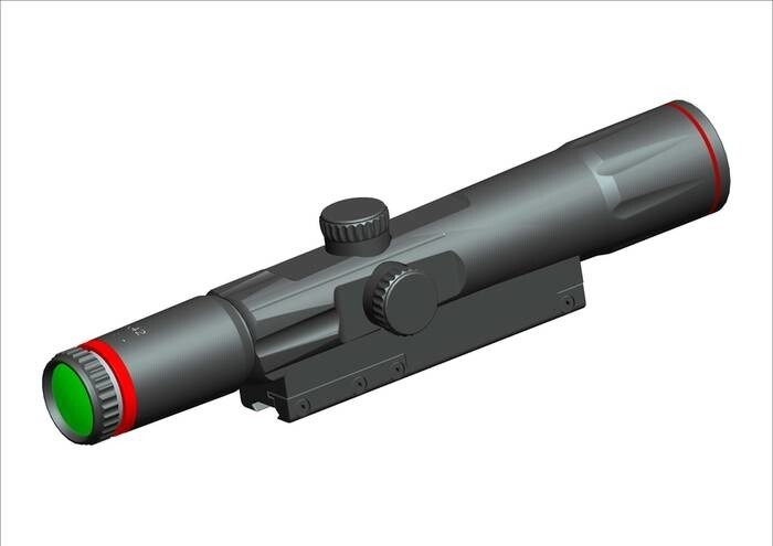 LOGO_6x42 mm Laser Quantum Rifle Scope