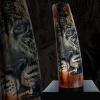 "LOGO_Luxury wildlife srimshaw objects - ""On wild animals' footsteps"""