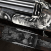 "LOGO_Luxury custom made hunting weapon engravings – ""With hammer and chisel"""