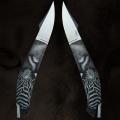 "LOGO_Luxury custom made knives – "" The art of cutting"""