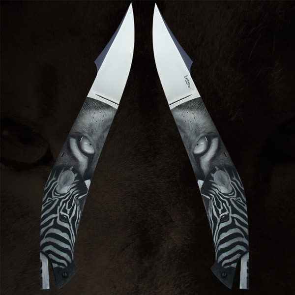LOGO_Handgefertigte Sammler und Jagdmesser