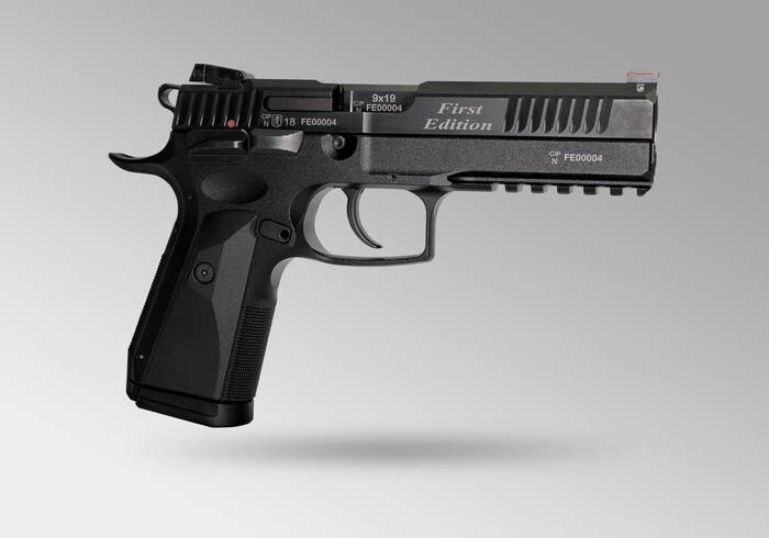 "LOGO_AZ-P1 ""First Edition""  -  limited edition of the first 20 pistols"