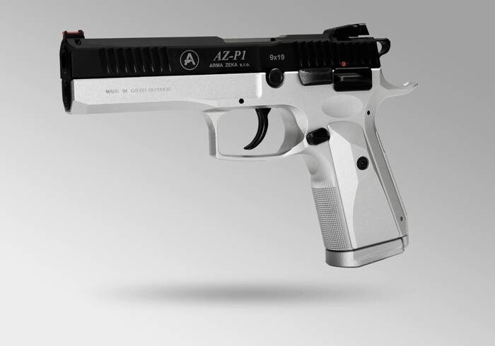 """LOGO_AZ-P1 Sport  """"First Edition""""  -  limited edition of the first 20 pistols"""
