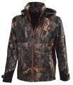 LOGO_U-TEX SOFTSHELL CAMO JACKET