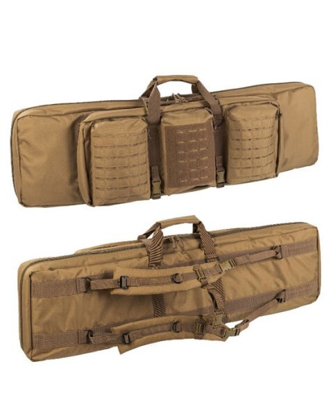LOGO_RIFLE CASE DOUBLE COYOTE
